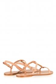 Hoss Intropia | Leren sandaal Roelie | nude  | Afbeelding 4