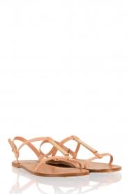 Hoss Intropia | Leren sandaal Roelie | nude  | Afbeelding 3