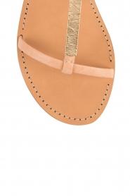 Hoss Intropia | Leren sandaal Roelie | nude  | Afbeelding 6