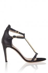 Leather sandals Louisa | black
