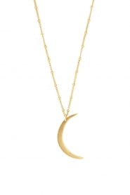Mimi et Toi |  18k gold plated moon necklace Lunette | gold  | Picture 1