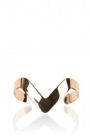 Hoss Intropia | Gouden armband Viva | goud  | Afbeelding 2