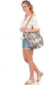 Hoss Intropia | Shopper Bol | print   | Afbeelding 2