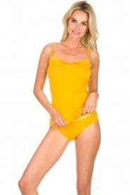 Hanro | Silk top Renee | yellow  | Picture 2