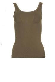 Hanro |  Sleeveless top Touch Feeling | green  | Picture 1