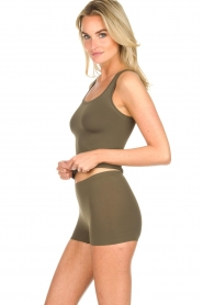 Hanro |  Slip shorts Touch Feeling | green  | Picture 3