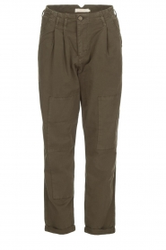 Rabens Saloner |  Pants Army | green  | Picture 1