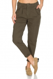 Rabens Saloner |  Pants Army | green  | Picture 2