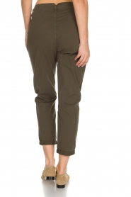 Rabens Saloner |  Pants Army | green  | Picture 5