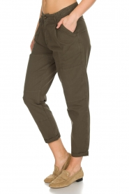 Rabens Saloner |  Pants Army | green  | Picture 4