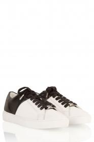 MICHAEL Michael Kors | Sneaker Toby | zwart-wit  | Afbeelding 3