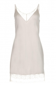 Hanro |  Slipdress with lace Jolina | natural  | Picture 1