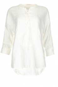 Rabens Saloner |  100% cotton top Oksana | white  | Picture 1