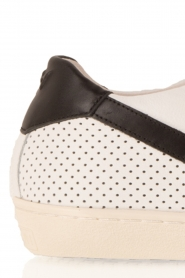 Leather Crown | Leren sneakers Donna | wit  | Afbeelding 6