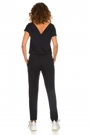 Hanro |  Jumpsuit with waistband Marit | black  | Picture 4
