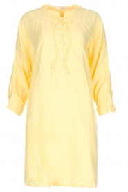 Rabens Saloner | 100% katoenen jurk Olivia | geel  | Afbeelding 1