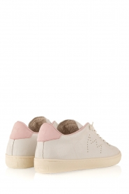 Leather Crown |  Leather sneakers Diana | white   | Picture 4