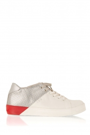 Leather Crown | Leren sneakers Donna | multi  | Afbeelding 1
