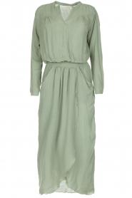 Rabens Saloner | Maxi-jurk Sanna | groen  | Afbeelding 1