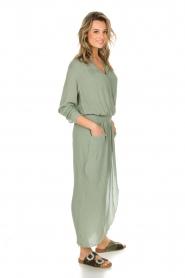 Rabens Saloner | Maxi-jurk Sanna | groen  | Afbeelding 3