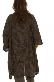 Rabens Saloner | Kimono Aaf | bruin  | Afbeelding 6