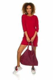 Becksöndergaard |  Foldable shopper Nora | red  | Picture 2