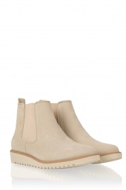 Suede ankle boot Pip | off-white