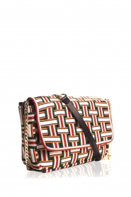 Becksöndergaard |  Shoulder bag with braided pattern Gemma | print  | Picture 4