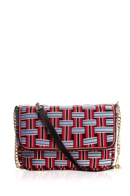 Becksöndergaard |  Shoulder bag with braided pattern Gemma | print  | Picture 1