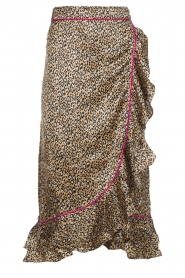 Becksöndergaard |  Leopard printed midi skirt Calista Demi | animal print  | Picture 1