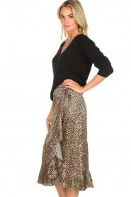 Becksöndergaard |  Leopard printed midi skirt Calista Demi | animal print  | Picture 4