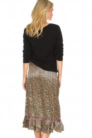 Becksöndergaard |  Leopard printed midi skirt Calista Demi | animal print  | Picture 5