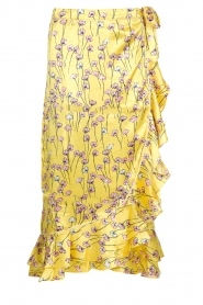 Becksöndergaard |  Floral midi skirt Shelby | yellow  | Picture 1