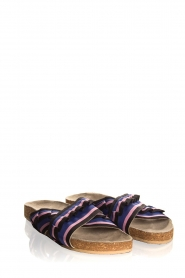 Becksöndergaard |  Printed leather sandals Gary | black  | Picture 4
