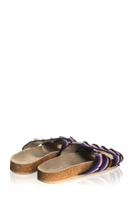 Becksöndergaard |  Printed leather sandals Gary | black  | Picture 5