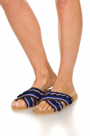Becksöndergaard |  Printed leather sandals Gary | black  | Picture 3