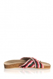 Becksöndergaard |  Printed leather sandals Gary | pink  | Picture 1