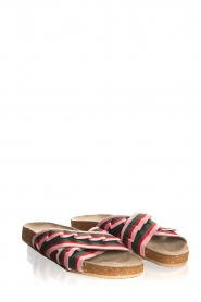 Becksöndergaard |  Printed leather sandals Gary | pink  | Picture 4
