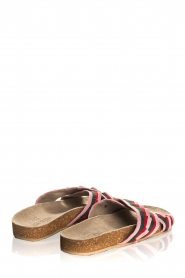 Becksöndergaard |  Printed leather sandals Gary | pink  | Picture 5