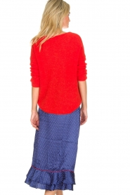 Becksöndergaard |  Midi skirt with polkadot pattern Calista Lena | blue  | Picture 6
