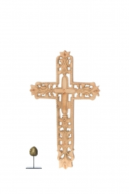 Little Soho Living |  Wooden cross Jax | brown  | Picture 3