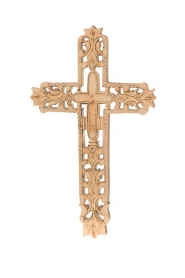 Little Soho Living |  Wooden cross Jax | brown  | Picture 1