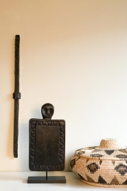 Little Soho Living |  Stand with wooden guard | black  | Picture 2