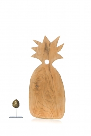 Little Soho Living |  Wooden cutting board Pineapple - small | brown  | Picture 3