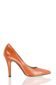 Leather pumps Nicole | rust