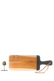 Little Soho Living |  Wooden cutting board Vince | brown  | Picture 4