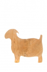 Little Soho Living |  Wooden cutting board Goat | brown  | Picture 1