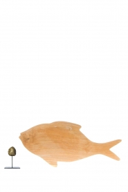 Little Soho Living |  Wooden cutting board Fish | brown  | Picture 3