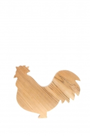 Little Soho Living |  Wooden cutting board Rooster | brown  | Picture 1
