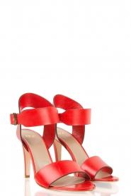 Noe | Leren sandalen Nabila | rood  | Afbeelding 3